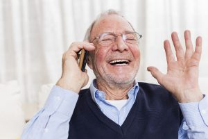 hearing better listening through a cell phone